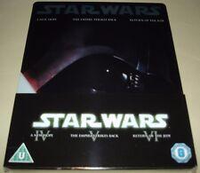 Star Wars Original Trilogy Blu Ray - UK Exclusive Vader Steelbook - New & Sealed