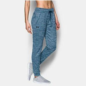 Under Armour Womens Size M UA Storm Armour Fleece Lightweight Jogger Pants Blue