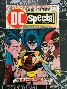 DC Special #1 1968 Silver Age DC Comics An All-Infantino Issue Justice League