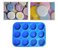 Proops Easter Spring Wax Melt Tart Candle Burner, Soap Making Mould Tray. S7836