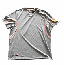 Under Armour Men's T-Shirt UA Running Combine Logo T-Shirt - Grey - New