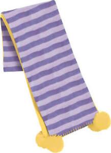 Regatta Girls Kids Striped Warm Winter Fleece Neck Scarf. RRP £15