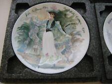 Lea D'Arceau Limoges France Collector Plate Women Century Fr Ganeau 1976 D