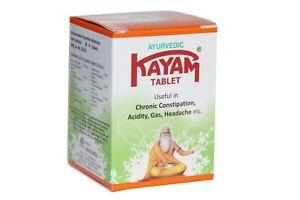 Kayam Tablet  30 Nos, Ayurvedic Medicine, useful for constipation, Acidity