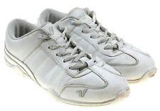 f224af47143 Varsity Cheerleader II White Leather Girls Cheer Shoes 90182 Sz 7 EU 38.5
