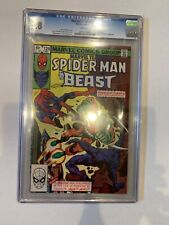 Marvel Team-Up 124 CGC 9.8 W    Spider-Man   Beast