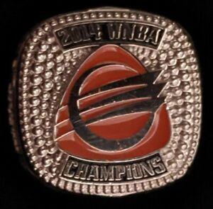 Phoenix Mercury 2014 WNBA Champions Basketball Ring great condition