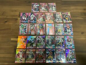 27x 2020 Panini Elite Pink Parallels Inserts Rookies and Stars Lot