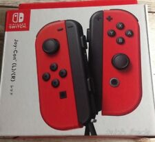 Nintendo Switch Joy-Con Controller Super Mario Odyssey ver. Red New from Japan