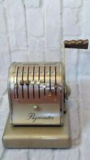Vintage PAYMASTER Automatic CHECK WRITER Model S-600 Chicago HR Collectable