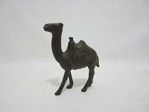 Antique Still Bank Camel w Saddle Cast Iron Stillbank