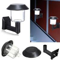 Solar Power Wall Mount Night Light Outdoor Security Fresh Yard Sensor Lamp #EA7