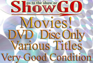 Movies & Shows #-D (DVD) *DISC ONLY* Very Good Condition - Read Description
