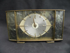 Brass Art Deco Antique Mantel & Carriage Clocks