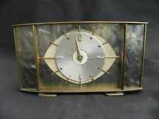 Brass Art Deco Antique Clocks with Keys, Winders