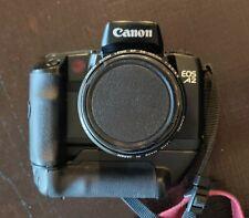 Canon Eos-A2 Slr Film Camera 28-105mm Lens Vertical Grip Accessories Bundle