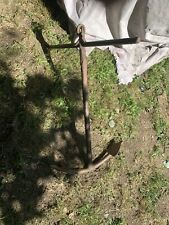 Antique Late 1800s Hand Forged Iron Boat Anchor