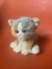 VTG Rare Tyco 1992 Kitty Kitty Kittens Purring Calico Cat Plush Toy