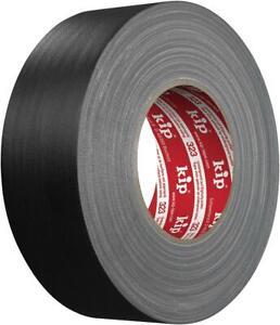 Kip Gaffer´s Tape Gewebeband 50m 50mm Breit Schwarz Klebeband Panzertape Gaffa