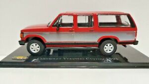 1:43 CHEVROLET VERANEIO CUSTOM 1993 COLECCION IXO
