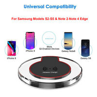 Qi Wireless Charger Universal Charging Pad for LG G4 G5 G6 Q6 V20 V30 iPhone 8