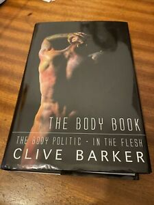 Clive Barker The Body Book *signed* 369/500 Limted Edition