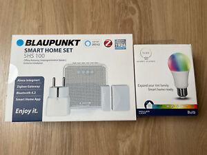 🏠 Blaupunkt Smart Home Set   SHS 100   inklusive tint Bulb   Zigbee Zentrale