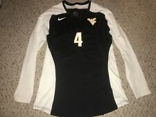 Nike West Virginia Mountaineers #4 Womens Volleyball L/S Game Jersey *L*
