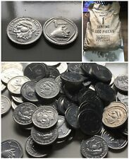 1986 PHILIPPINES 100x 1 Sentimo KM238 Aluminum Coin Shell Only 80k Minted AU+