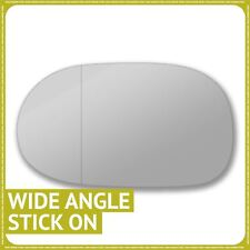 Left passenger side for Honda CRX Del Sol 92-99 wing mirror glass Wide Angle