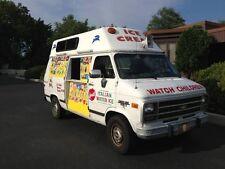 Fiber Glass truck Raised roof, Fiberglass high top, turtle hi top, Ice Cream