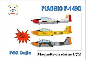 1/72 - FSC DUJIN - PIAGGIO P-149 D Déco Luftwaffe