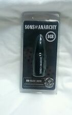 Tribeca Sons of Anarchy Bullet USB Flash Drive Memory Stick  8GB BLACK BULLET