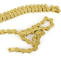 F80 Bicycle Chain Gold 8 Speed MTB Road Bike Chain 24Speed 1/2*3/32 thin Chain