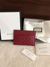 97e807438b21 100% Real Authentic Gucci Guccissima Card Holder SLG BRAND NEW IN BOX!