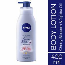 Nivea Oil In Lotion Cherry Blossom & Jojoba Oil 400ml 24 hour+ deep moisture