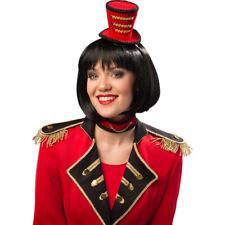 Zirkus Direktorin Kostüm Set mit Minihut Halsband Dompteurin Dompteuse Outfit