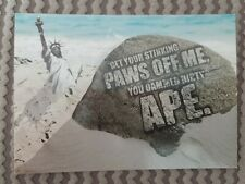 Cinema in cards series no.122 : Planet of the Apes promotional postcard