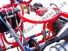 KITS TUBI SILICONICI MOTORI TM RACING  (SILICONE HOSE) COLORATI PER GO KART