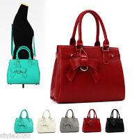 NEW Women Ladies Shoulder Bag Hobo Tote Satchel Cross Body Faux Leather HandBag