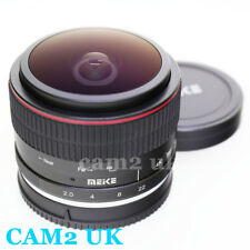 Meike 6.5mm f/2.0 Manual APS-C Fisheye Lens for Canon EF-M mount camera EOS M6