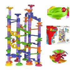 Marble Run Race Set Creative Building Blocks Space Rail Track MarblesToy Game