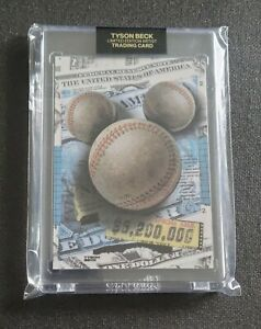 2021 Tyson Beck Mickey Mantle Companion Card Limited to 520 Sealed Project 70