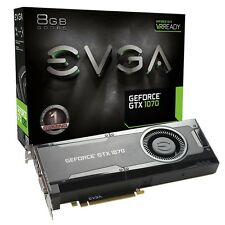 EVGA GeForce GTX 1070 GAMING, 8GB GDDR5 Graphics Card 08G-P4-5170-KR