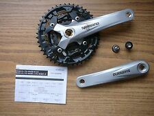 Shimano Acera Triple Crankset FC-M391 9spd 170mm 44 x 32 x 22 Silver Bike Cranks