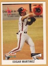 EDGAR MARTINEZ METROS DE SAN JUAN ALL STAR 3B UPDATE SET 1989-90  PR #48 OF 75