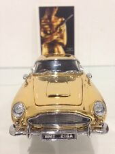 Exotic Vintage Aston Martin DB5 GT Gold Plated Spy Car