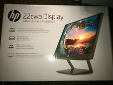 HP Pavilion 22cwa 21.5-Inch Full HD 1080p IPS LED Monitor Tilt VGA and HDMI T...