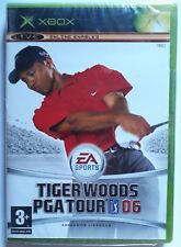 TIGER WOODS PGA TOUR 06 XBOX GAME new, wrapped & MICROSOFT spine sealed UK PAL