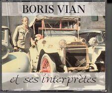 COFFRET 2 X CD  BORIS VIAN ET SES INTERPRETRES (2 CD 40 TiTRES)